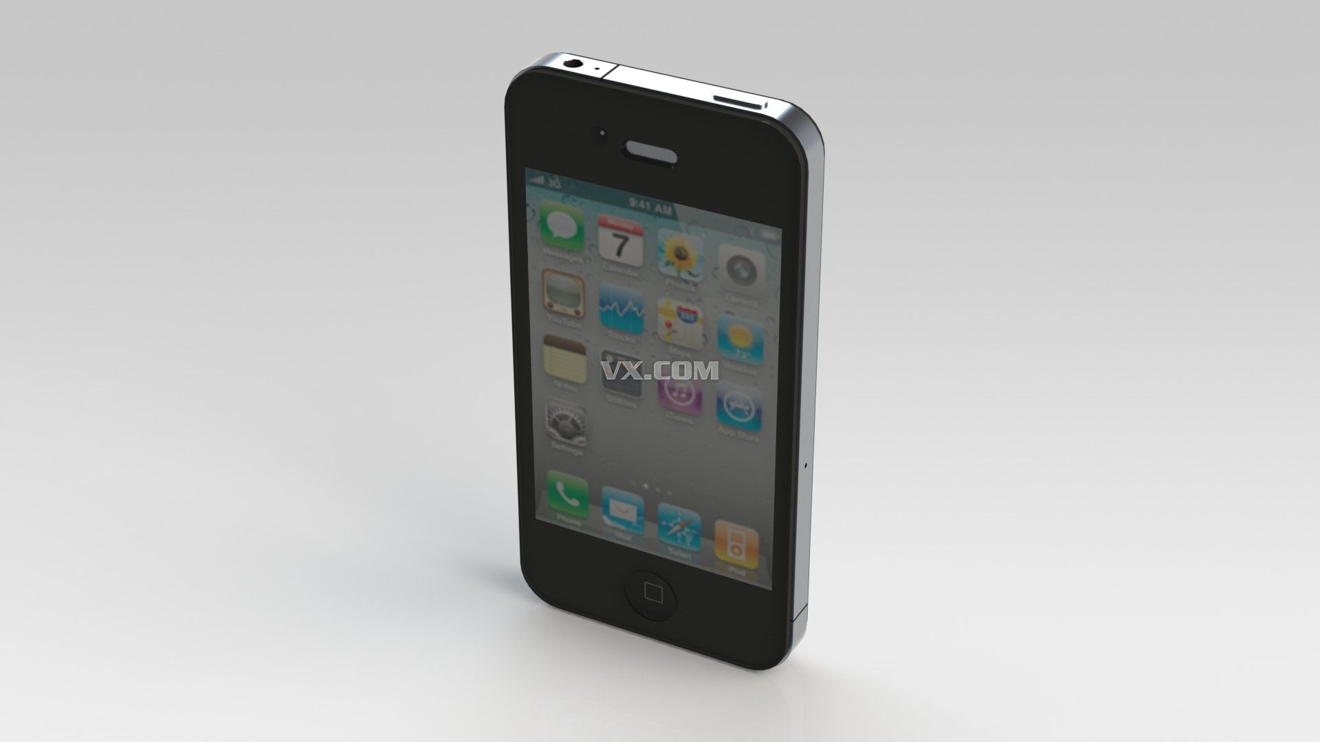 苹果手机_solidworks_数码电子_3d模型_图纸下载_微小