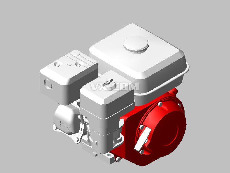 本田honda-gx160水平轴发动机图片