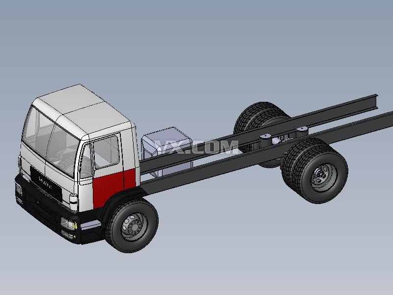 货车的结构名称图解