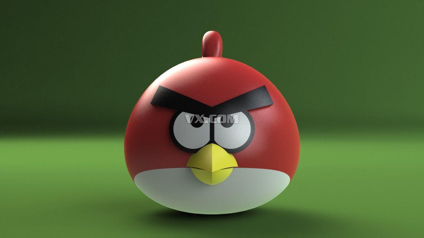 愤怒的小鸟_solidworks