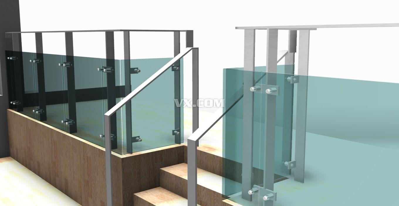 玻璃护栏图片
