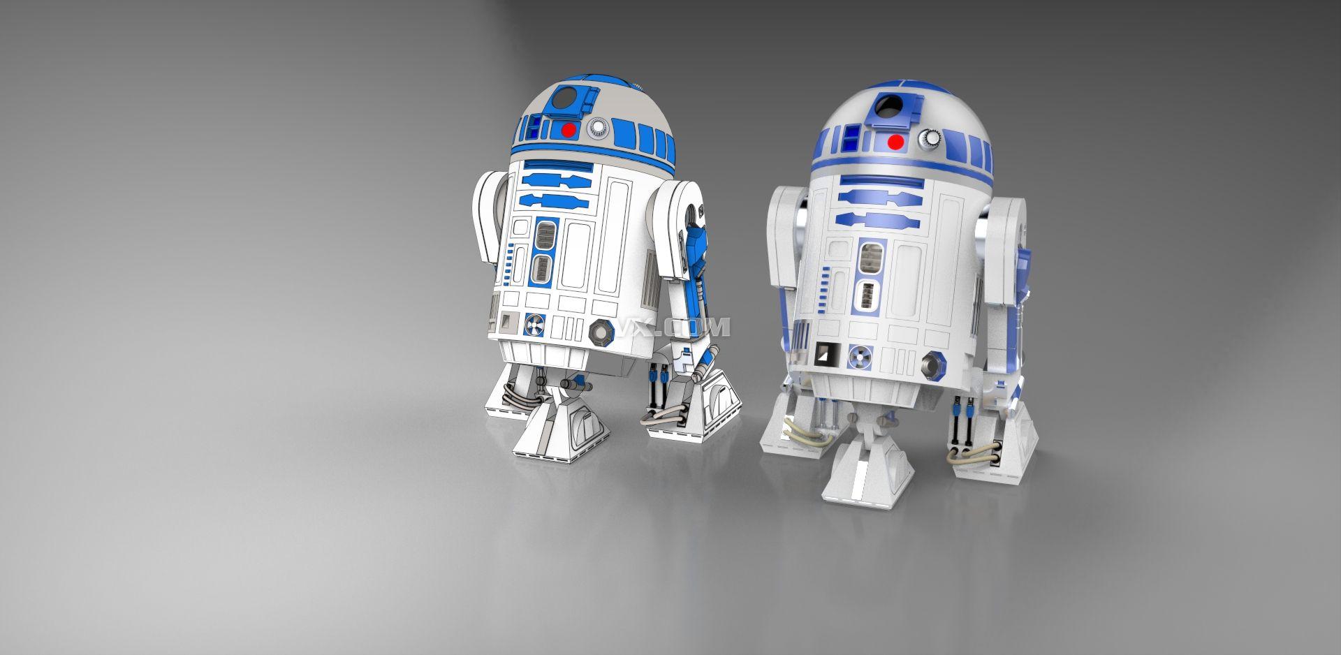 星球大战r2d2机器人
