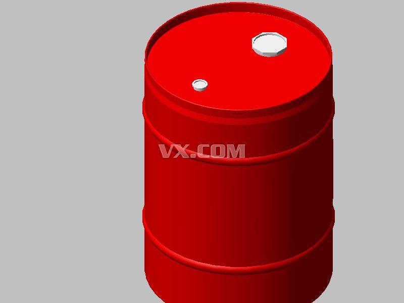 50l汽油桶_solidworks