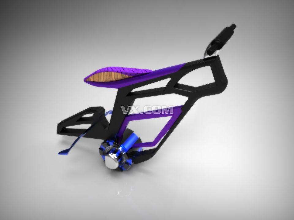 未来自行车图片