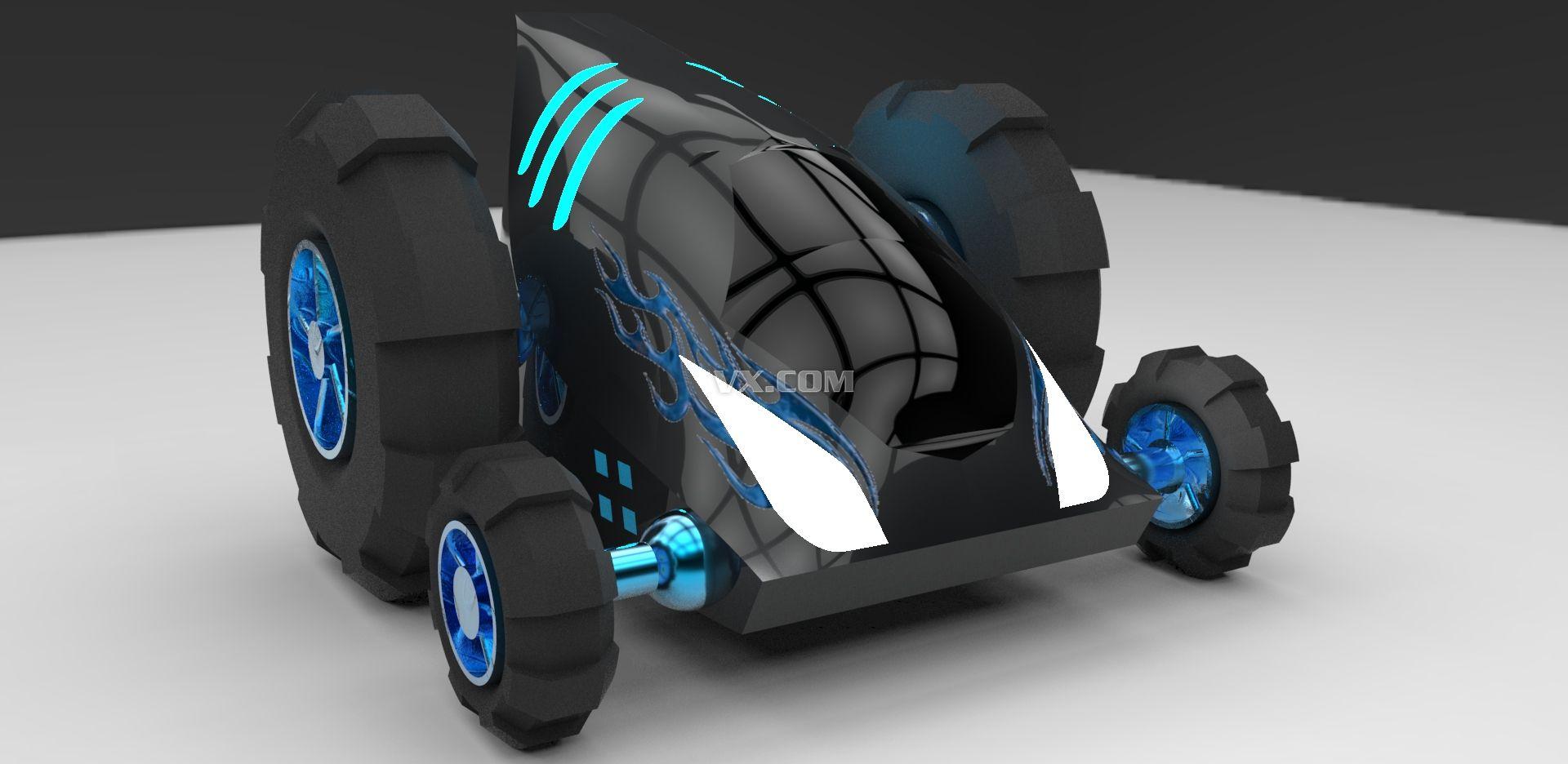 中望3d2013全球设计比赛作品展#地狱战车