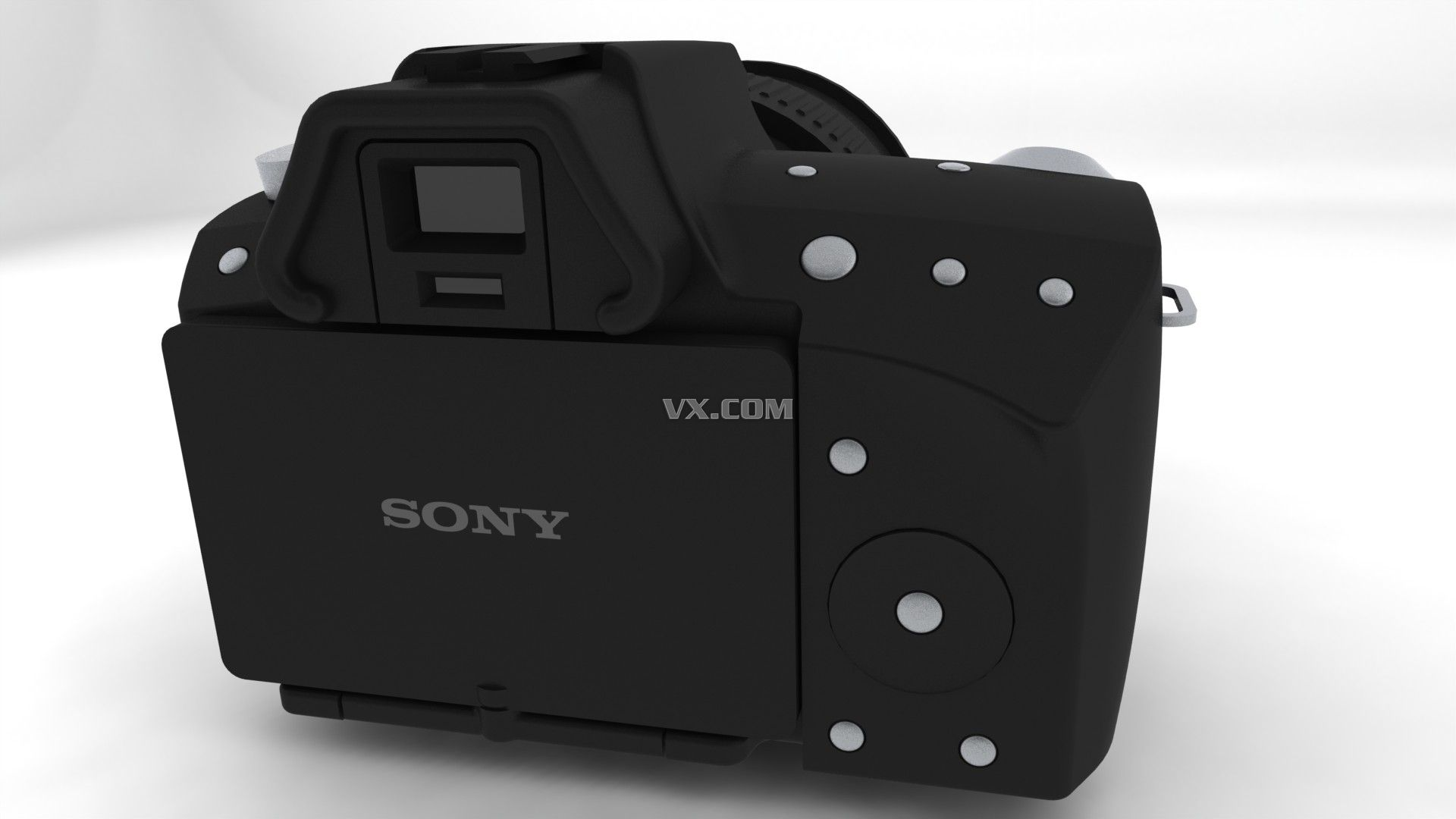 索尼相机_solidworks_数码电子_3d模型_图纸下载_微小