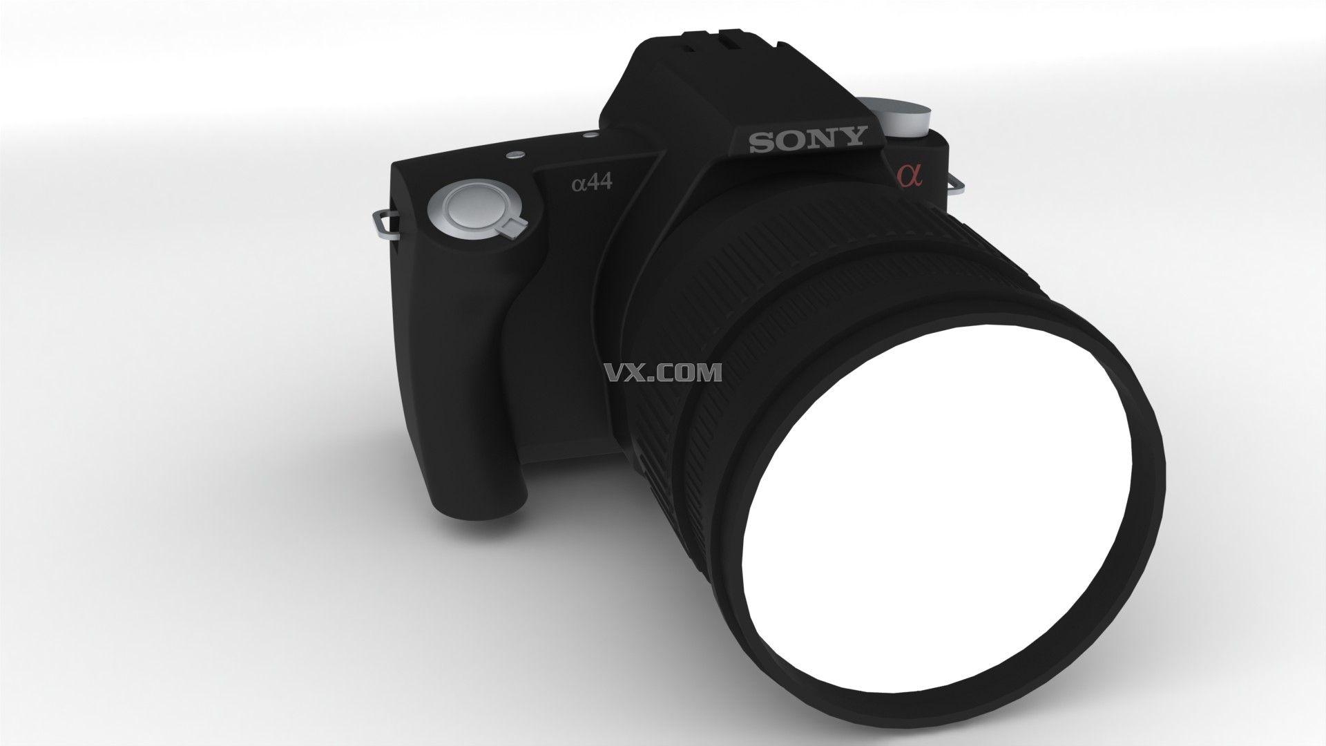 索尼相机_solidworks_数码电子