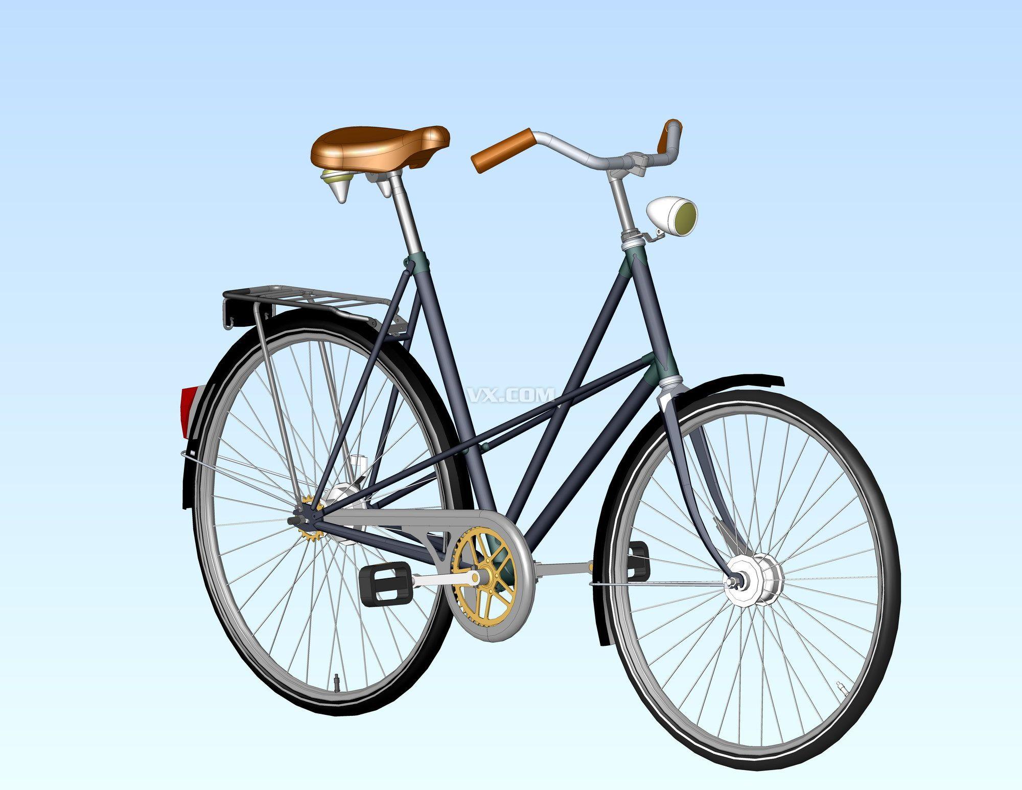 老式自行车