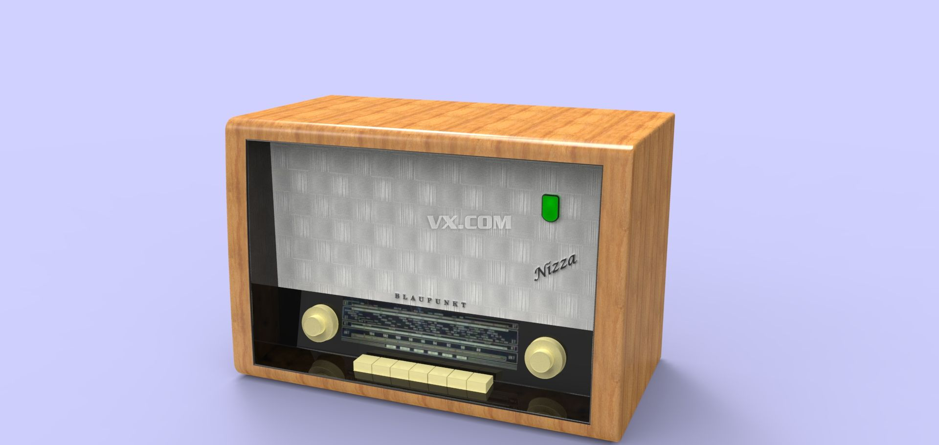 老式收音机_iges/igs_数码电子