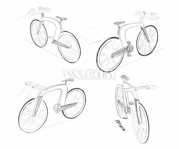 n-cycle创意自行车