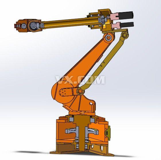 機器人手臂設計圖紙展示
