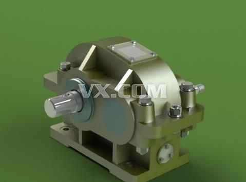 一级减速器solidwork图_solidworks_机械设备_3d模型