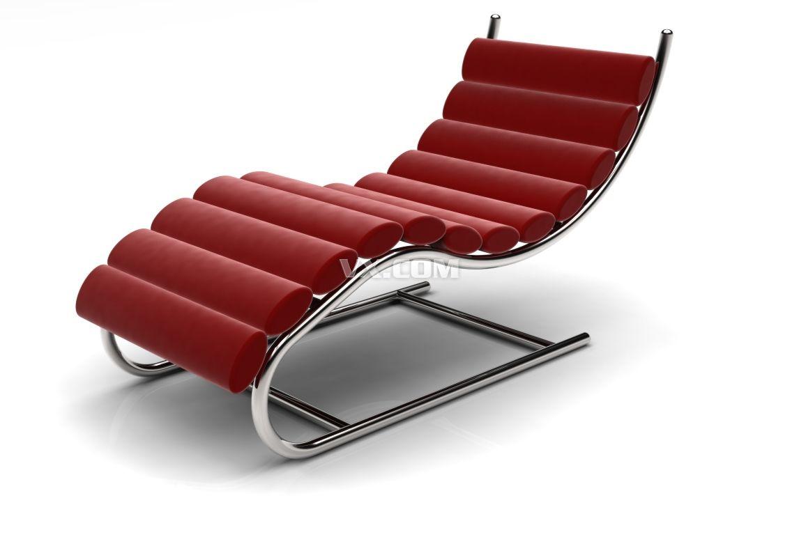 高档躺椅_stl_家具_3d模型