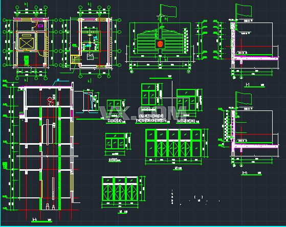 六层检察院办公楼设计图