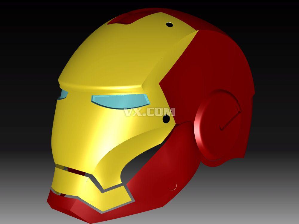 便是钢铁侠的那款智能头盔