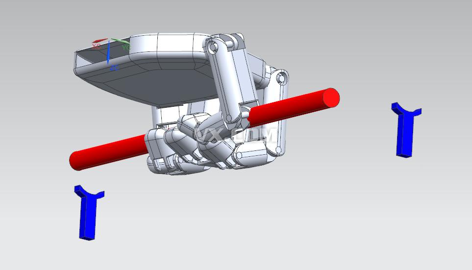 机械抓手_step/stp_机械设备_3d模型_图纸下载_微小网