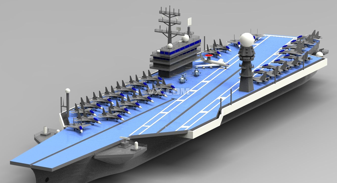 3d船手绘