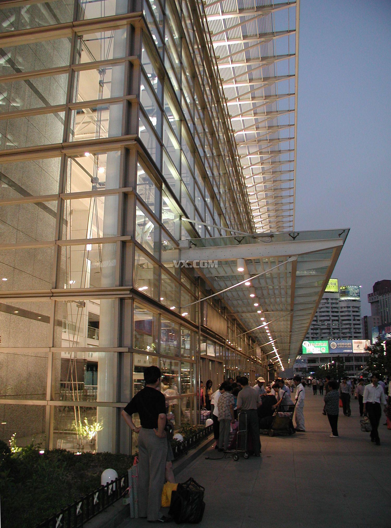 上海长途汽车客运总站设计方案和cad施工图