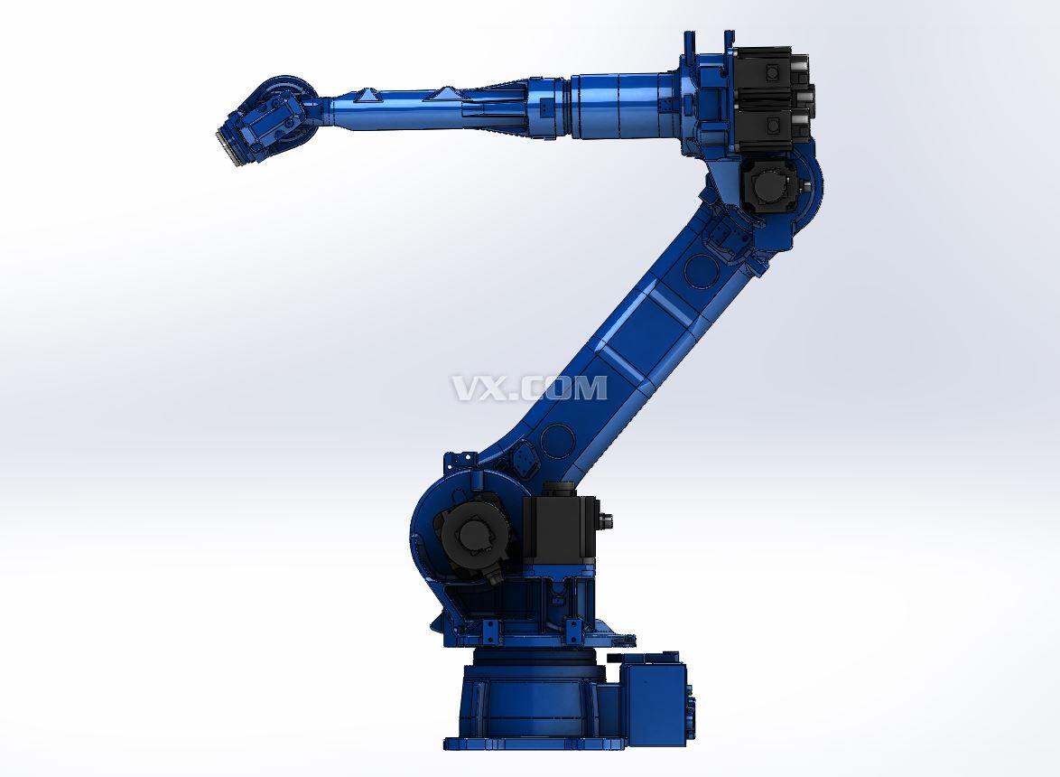 安川六轴垂直多关节机器人MH50高清图片