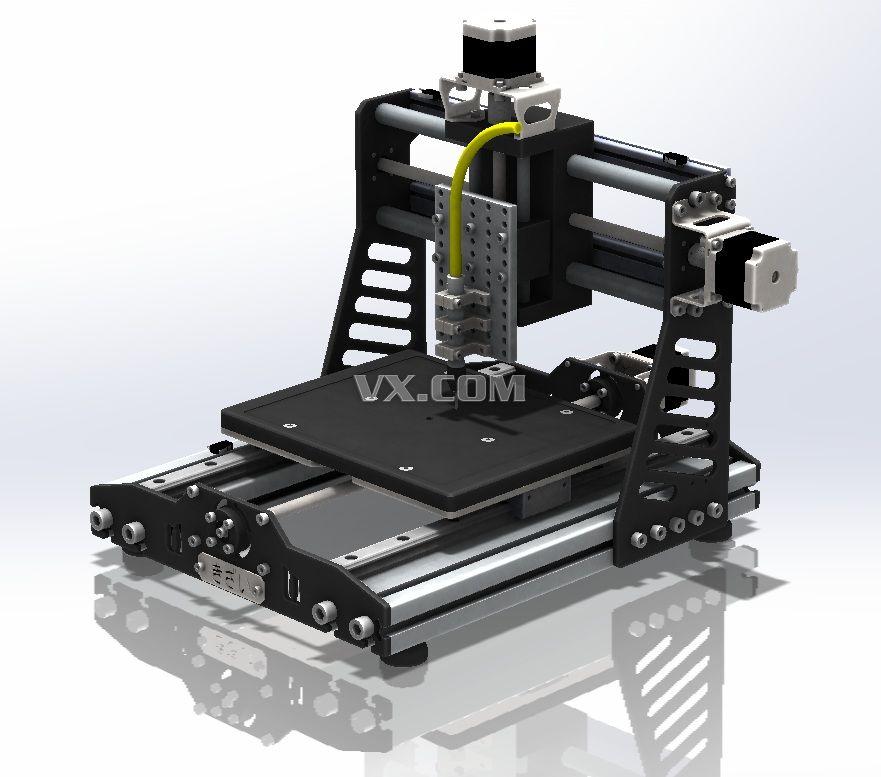 可diy数控雕刻机的3d模型