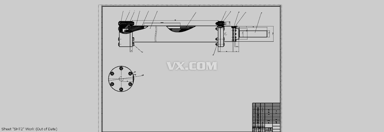 液压缸_nx_机械设备_3d模型图片