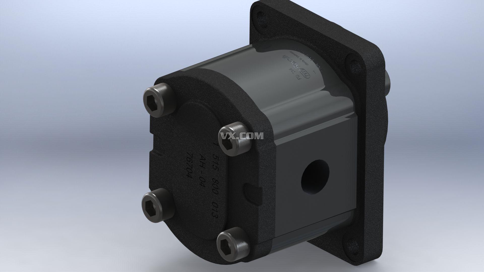 液压油泵(齿轮油泵)图片