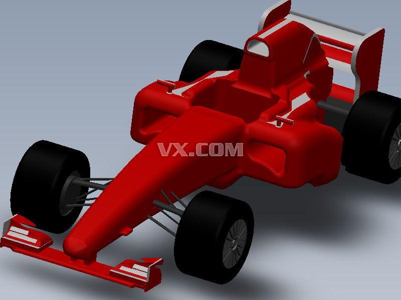 f1赛车_solidworks_交通工具_3d模型_图纸下载_微小网