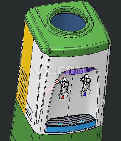 饮水机_pro/e_家用电器