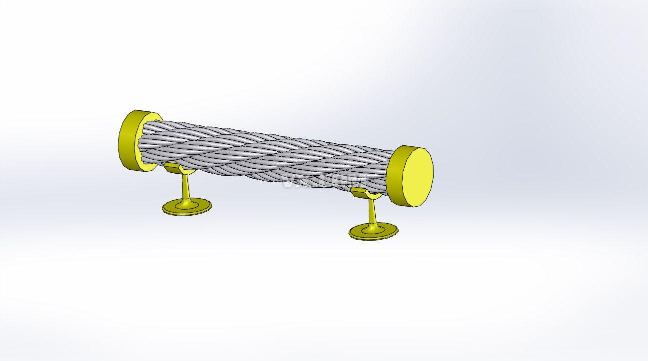 钢丝绳_solidworks_结构