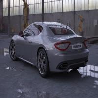 玛莎拉蒂/Maserati GT超跑3D模型