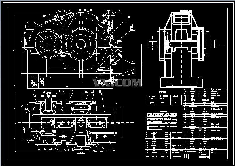 设计题目设计一个用于带式运输机的传动装置,运输机连续工作,单向.