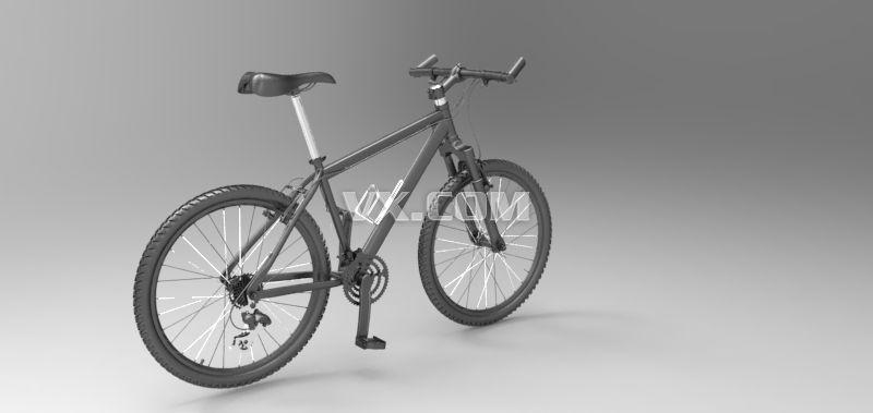 自行车结构设计_iges/igs