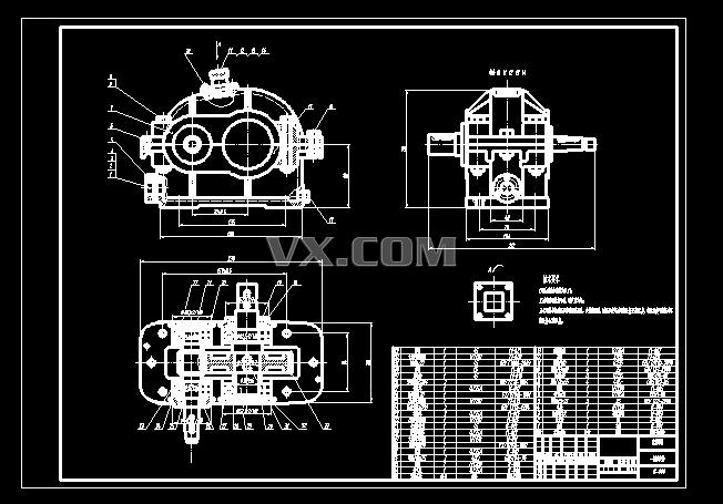 手压阀装配图的阀体零件图分享展示图片
