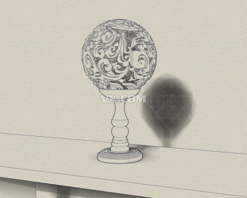 素描球步骤图片