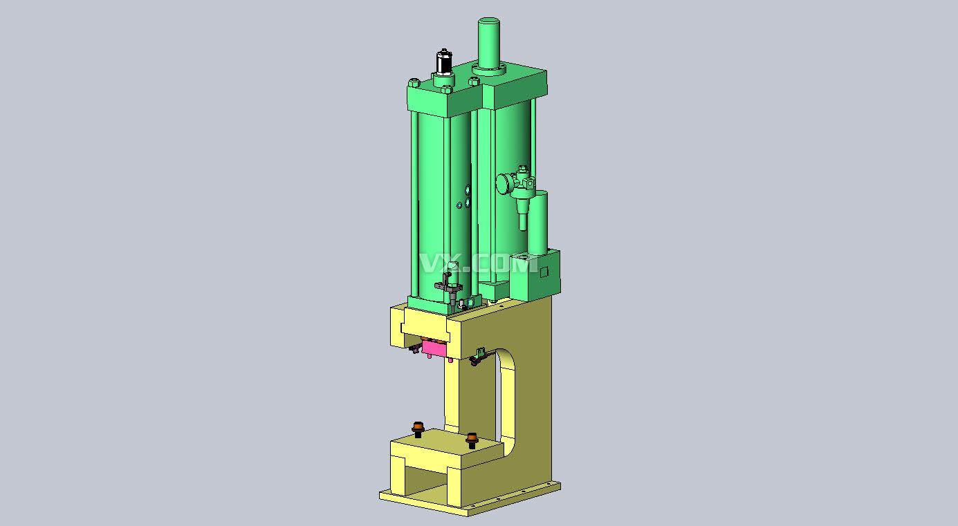 气压缸压紧机构图片