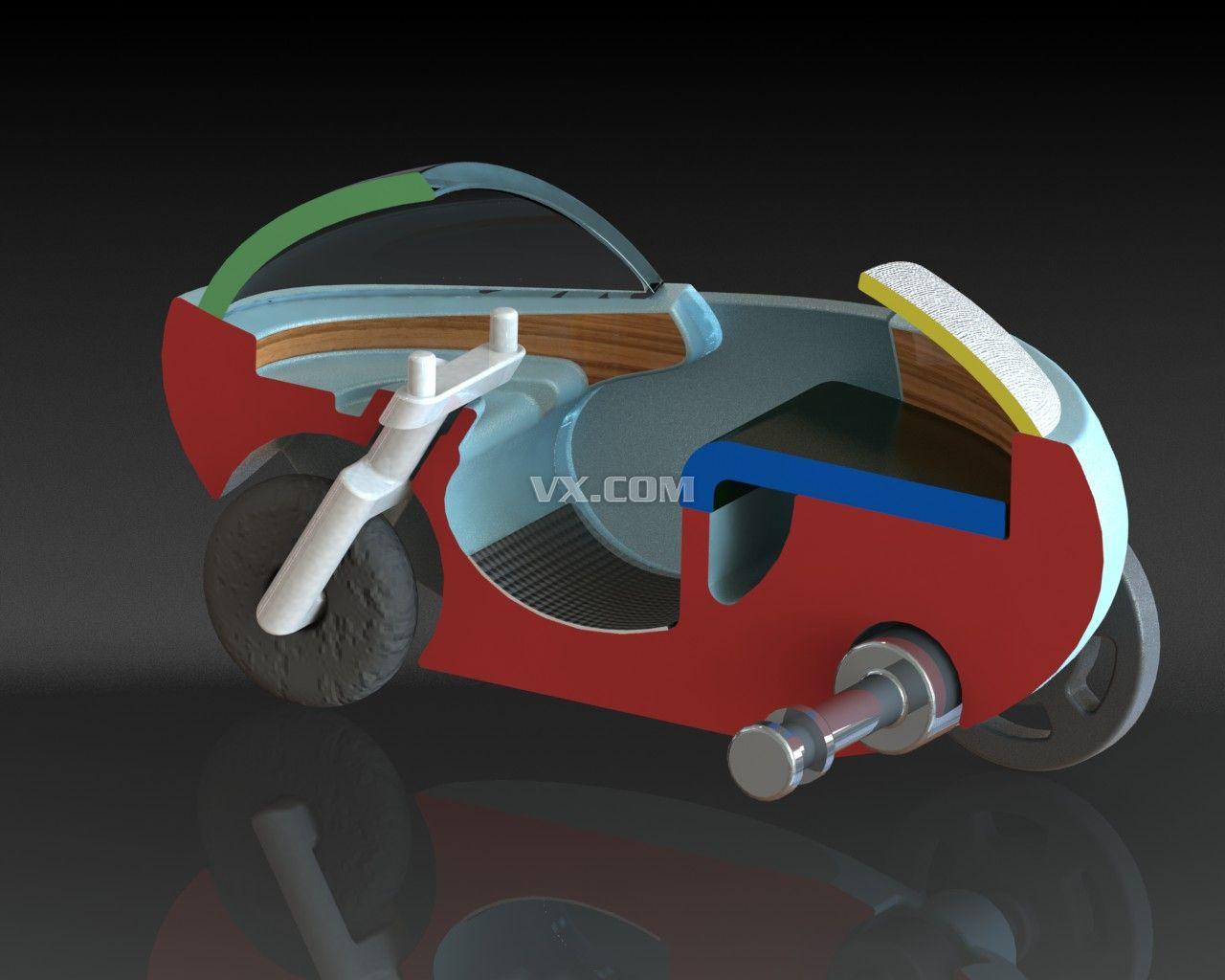 汽车0创意设计