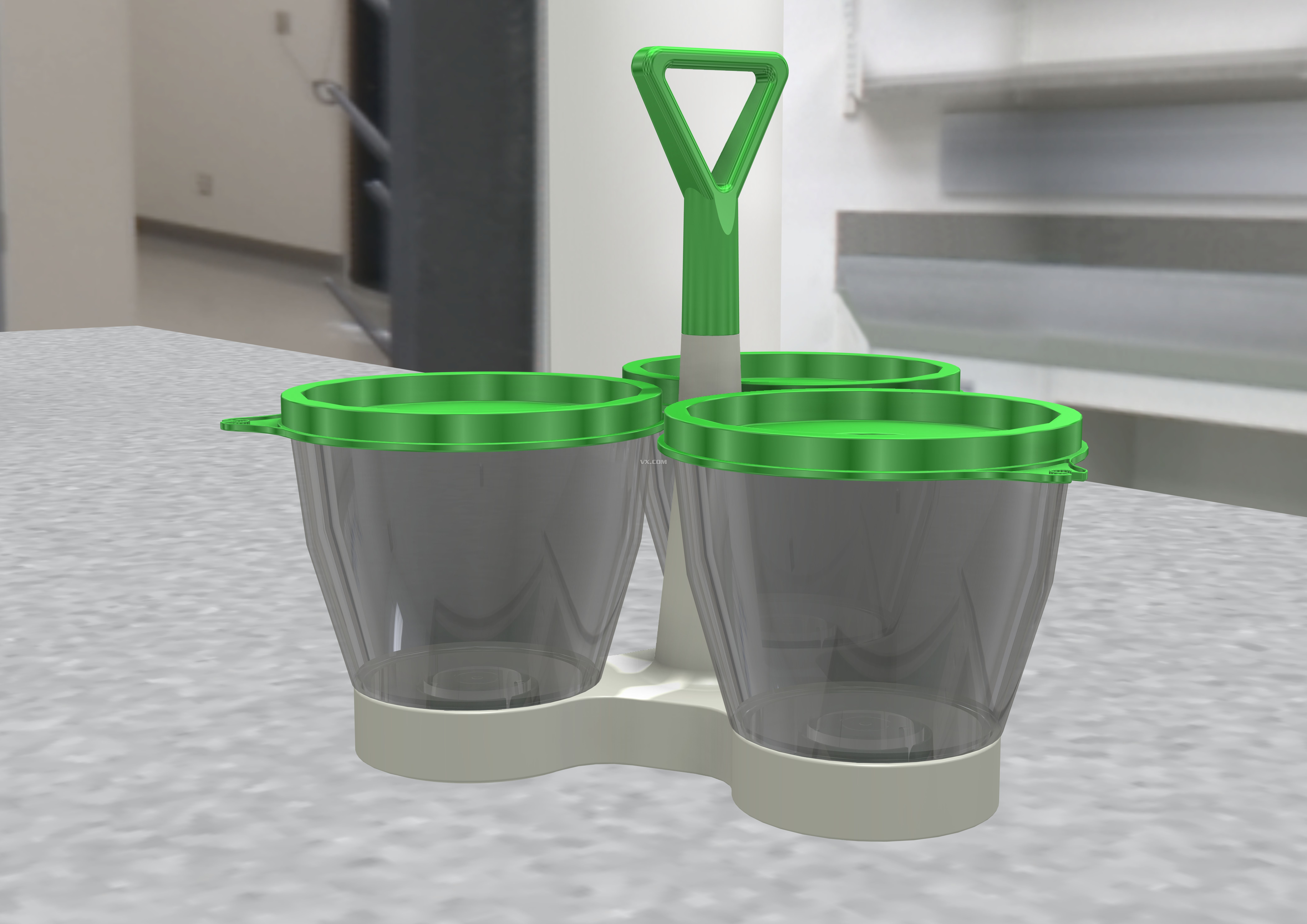 塑料桶_step/stp_生活设施