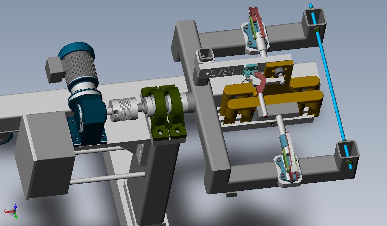 焊接夹具组件示例_solidworks_机械设备_3d模型_图纸