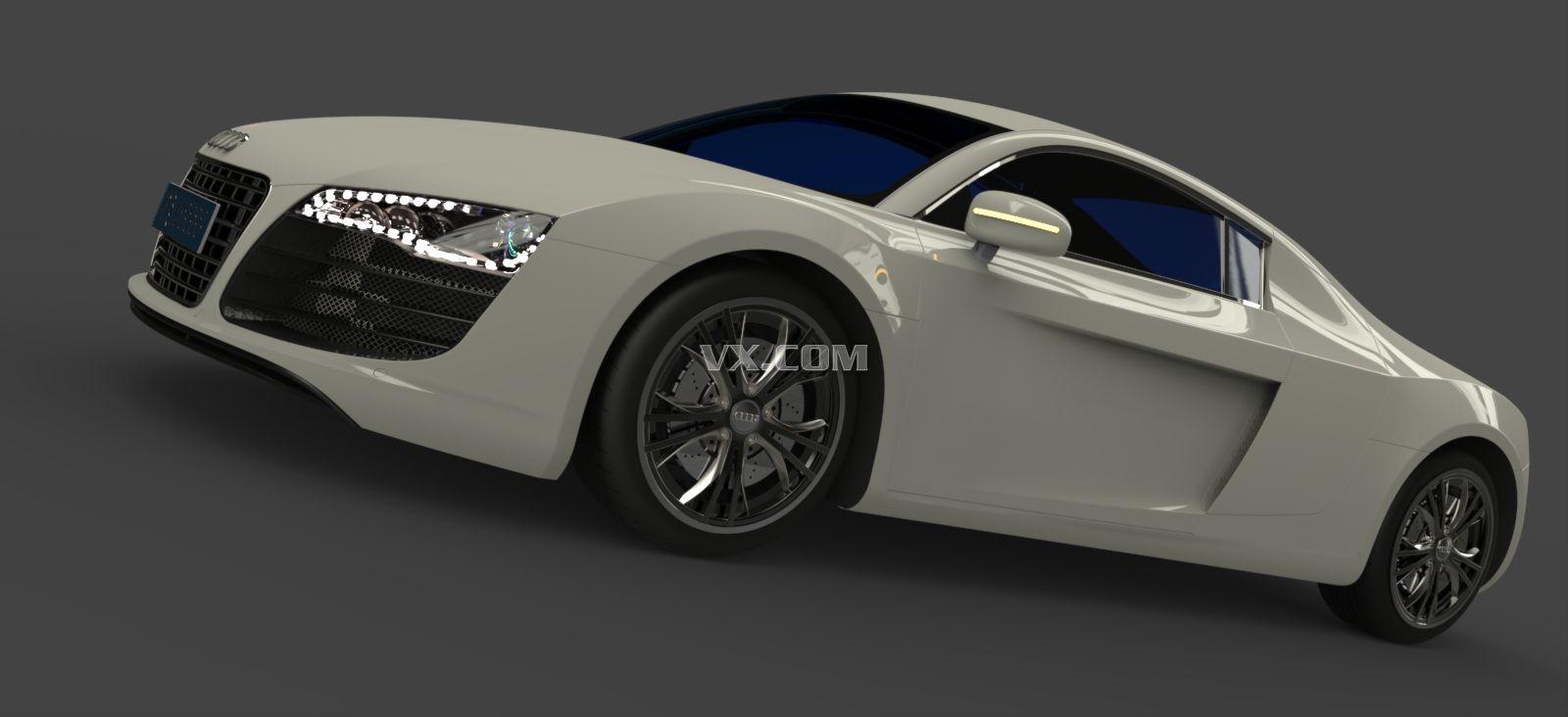 audi-r8-catia设计_catia_交通工具_3d模型_图纸下载
