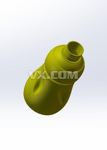 饮料瓶_solidworks_创意设计_3d模型_图纸下载_微小网