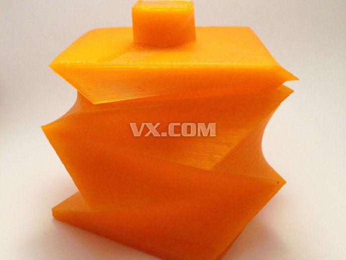 扭曲的盒子3d打印_stl_创意设计_3d模型_图纸下载
