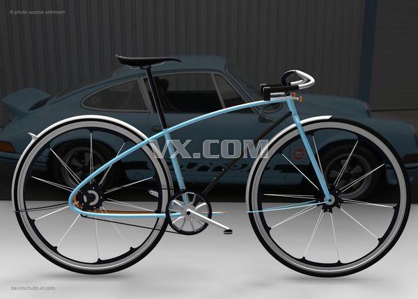创意设计| 保时捷概念自行车