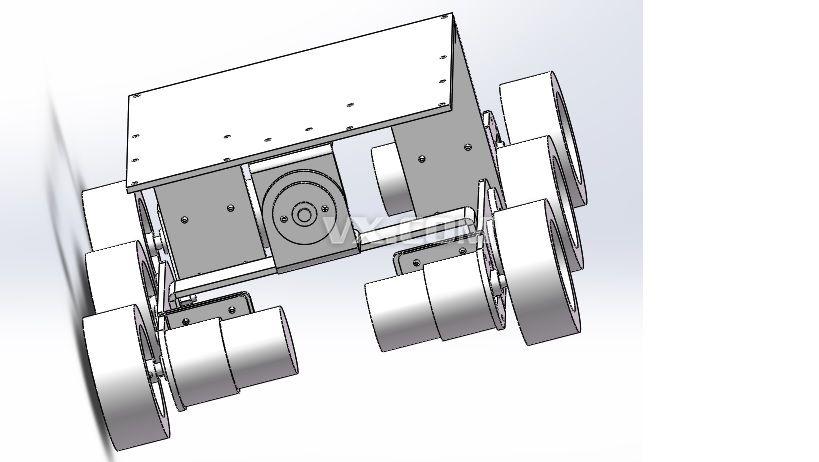 图2机械手及机械手行走小车设计图图片