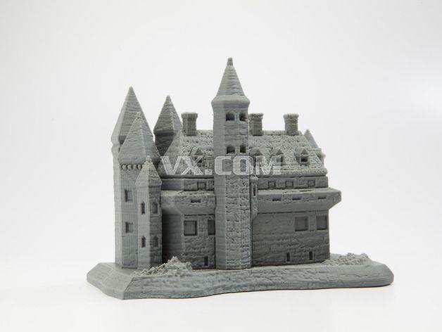 城堡3d打印