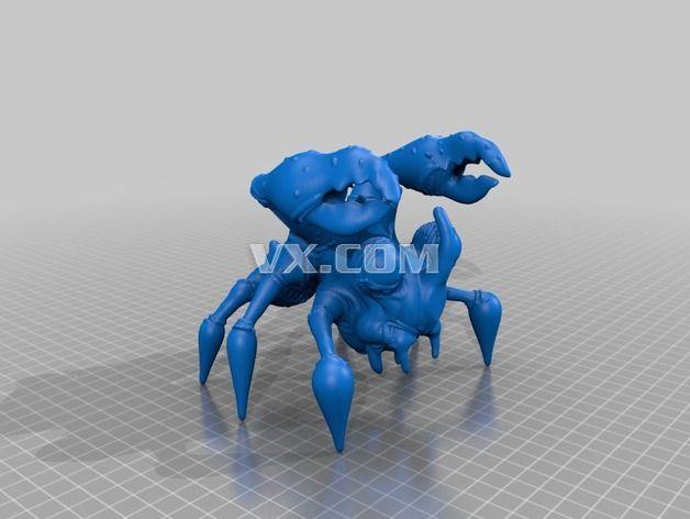 螃蟹3d打印