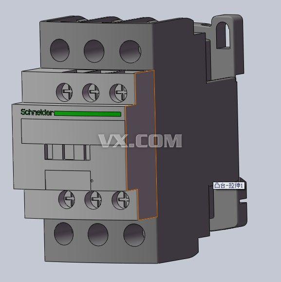 施耐德lc1d125c 接触器