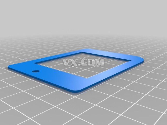 gameboy游戏机按钮3d打印