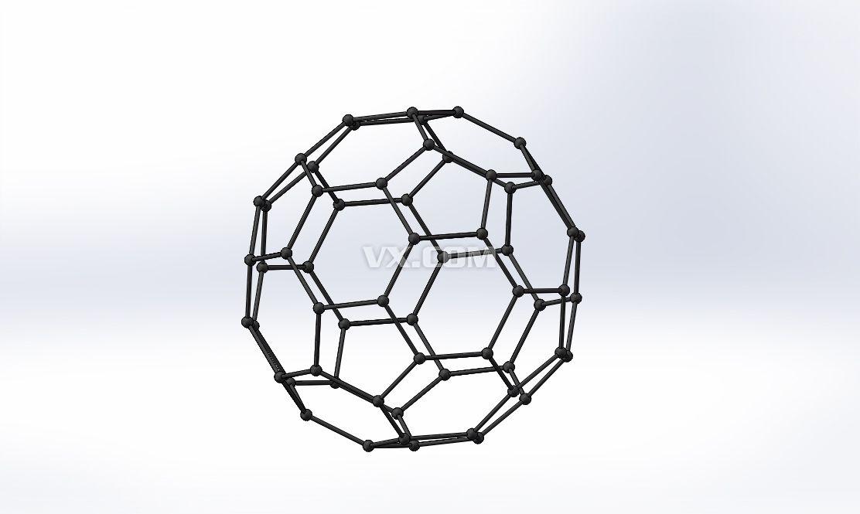 足球烃_solidworks_3d模型_图纸下载_微小网