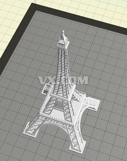 埃菲尔铁塔_stl_建筑_3d模型