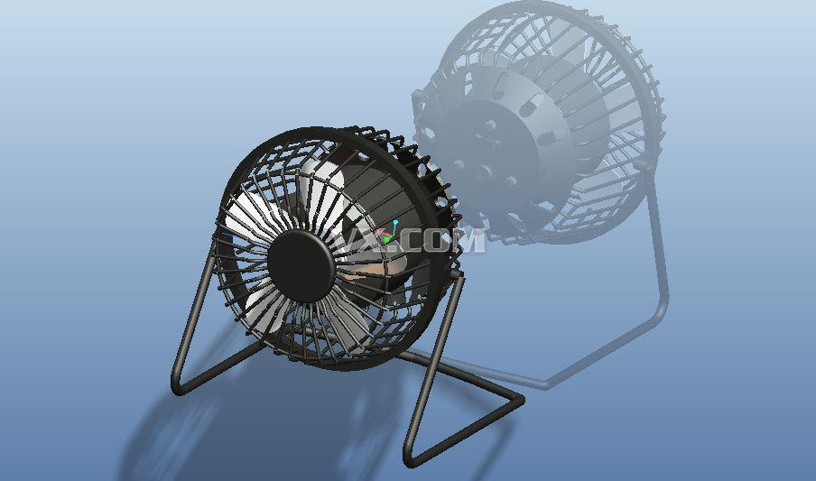 五芯线三档电风扇接线图